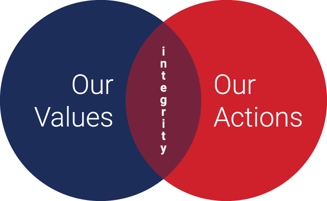Values-Actions-Integrity